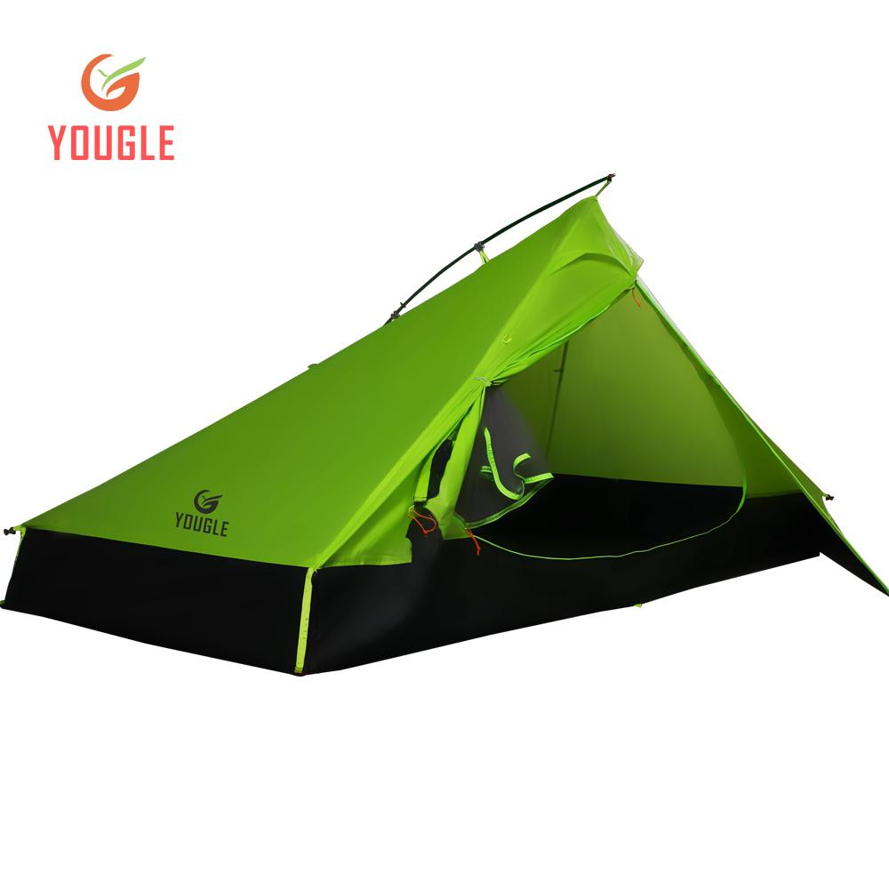 Cheap Quick Tents Best Boys Tents  sc 1 st  DHgate & 20D Double Layer 2 Men Two Person Backpacking Tent 3 Season For ...