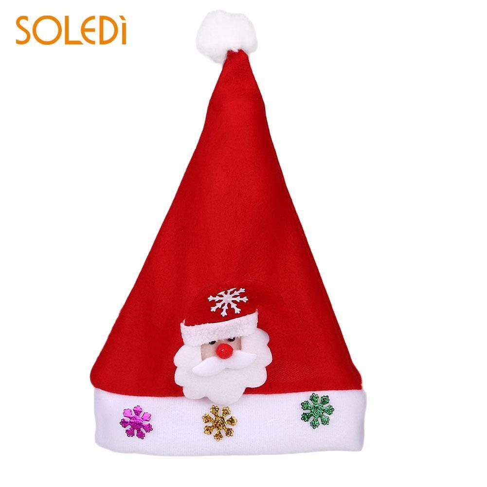 cc134a30b4f74 Glowing Christmas Light Hat Santa Claus Xmas Cap Decoration Kids Gift Natal  Decorating For Christmas Decorating For Xmas From Georgely