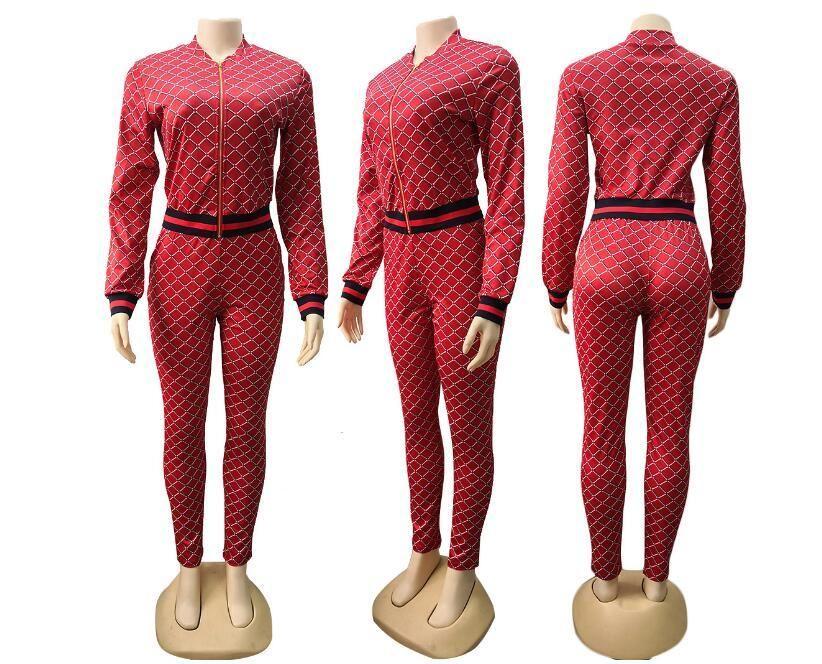 83ec9f856c6b Acquista Chic Donna Pantaloni Tuta Abbigliamento Set Manica Lunga T Shirt  Leggings Pantaloni Tuta Abbigliamento Donna Sportswear Tuta Sportiva A   23.12 Dal ...