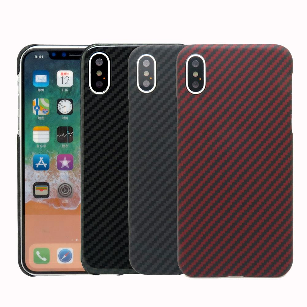 huge selection of ae296 1f157 2017 New Arrival For Iphone X Carbon Fiber Case Cover For Iphone X 100  %Real Ultra Thin Deluxe Carbon Fibre Cover