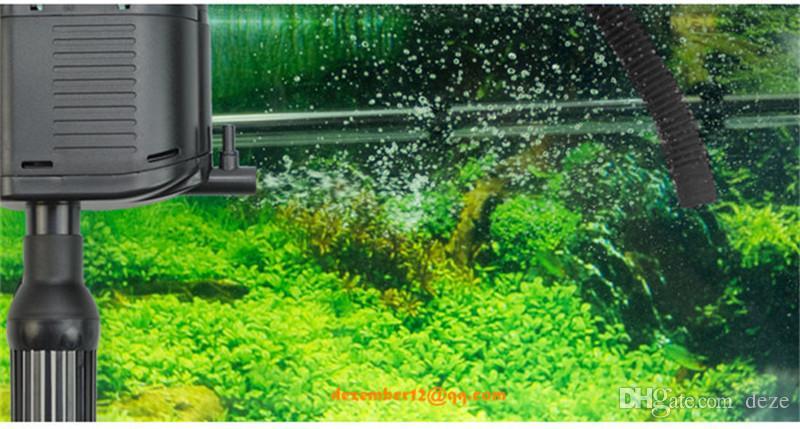 SUNSUN HQJ-700G 8W 500L / hフィッシュタンク水族館水ポンプのパワーヘッド多機能オックスゲン水中濾過ポンプAC220V-240V