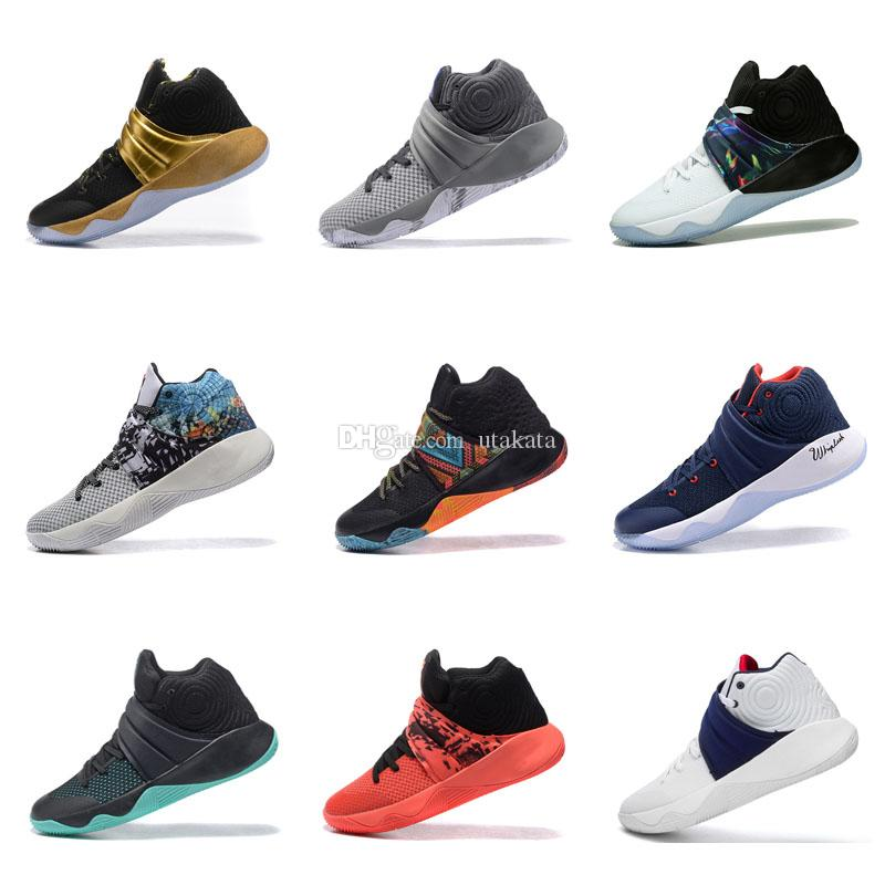 8624b28d3898 2018 New Irving 2 Basketball Shoes for Cheap Sale Sneakers Sports Kyrie Mens  Shoe Red Outdoor Trainers Basketball Shoes Irving 2 Basketball Shoes Online  ...