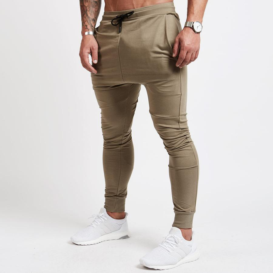 0a805c1f 2019 Red Jogging Pants Men Striped Sport Sweatpants Running Pants ...