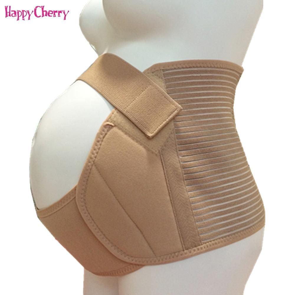 b7fe22347 Compre Faja De Vendaje De Maternidad Para Embarazadas Soporte Transpirable  De Maternidad Cintura Para La Espalda Espalda Ortopédica Con Cinturón De  Memoria ...