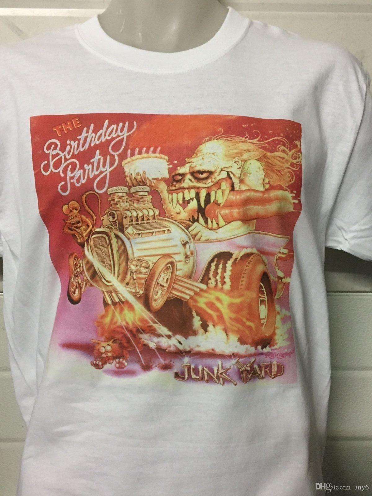 Cave Birthday Party Cattivi Nick Junkyard Semi I E T Shirt Acquista b7yIfvY6g
