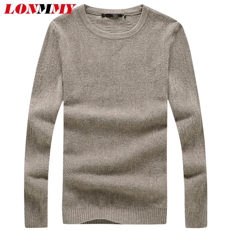 info pour e419b 3d891 LONMMY 4XL Casual pullover men sueter Pull homme men sweater hombre  masculino man vetement homme 2018 sweaters mens sueter Gray