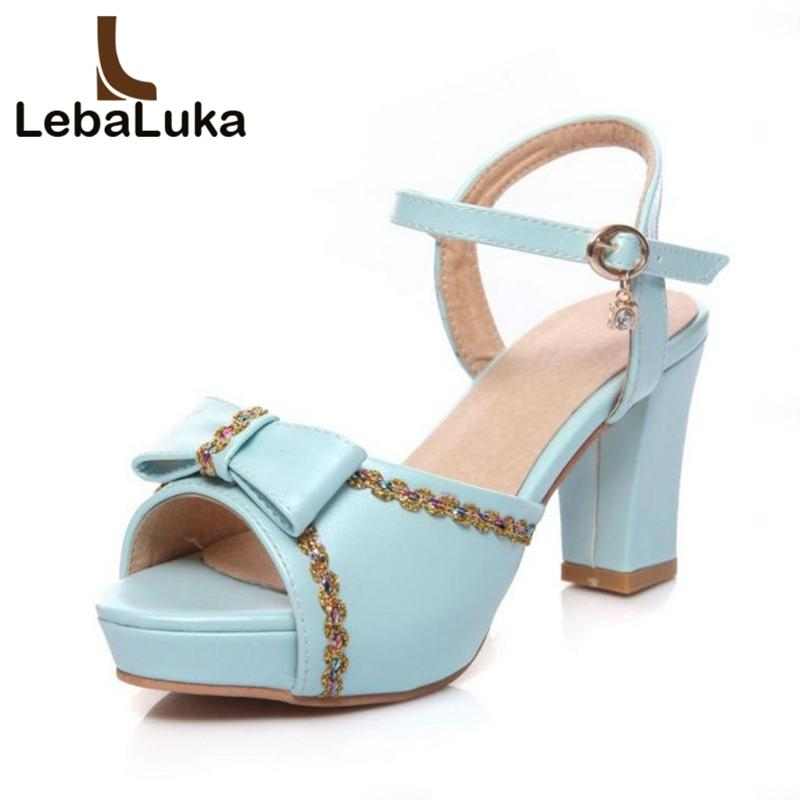 daac73ab7 Wholesale Size 33-43 Women High Heel Sandals Bowknot Open Toe Metal Buckle  Cindy Color Sweety Women Shoes Party Wedding Footwear Shoes Woman Sandals  Woman ...