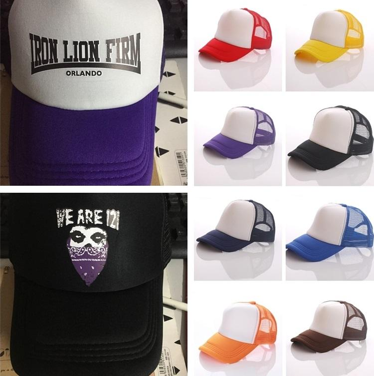 06a945a2f53 NewestTrucker Cap Adult Mesh Ball Caps Blank Trucker Hats Snapback Hats  Accept Custom Baseball Cap For Children Sun Hat Custom LOGO T1C331 2 Snapback  Caps ...