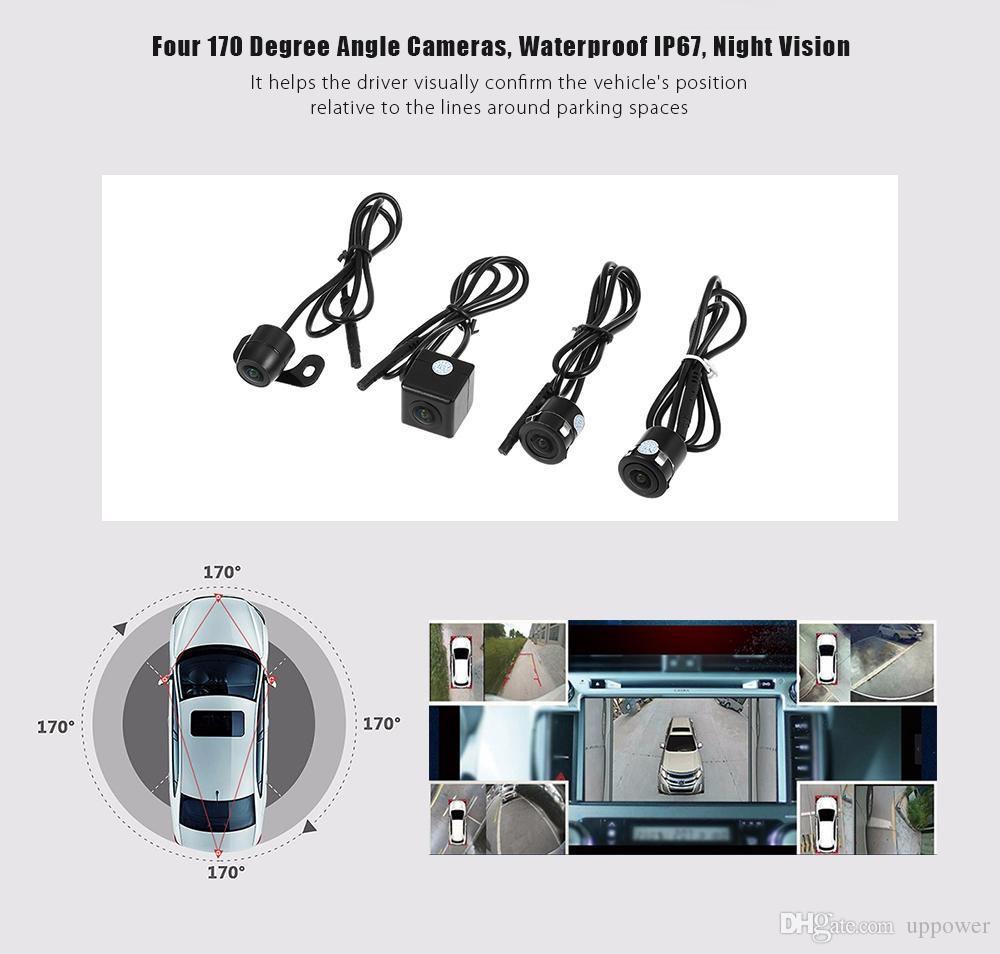 2019 Carbest 360 Degree Surround View System Around Parking Car