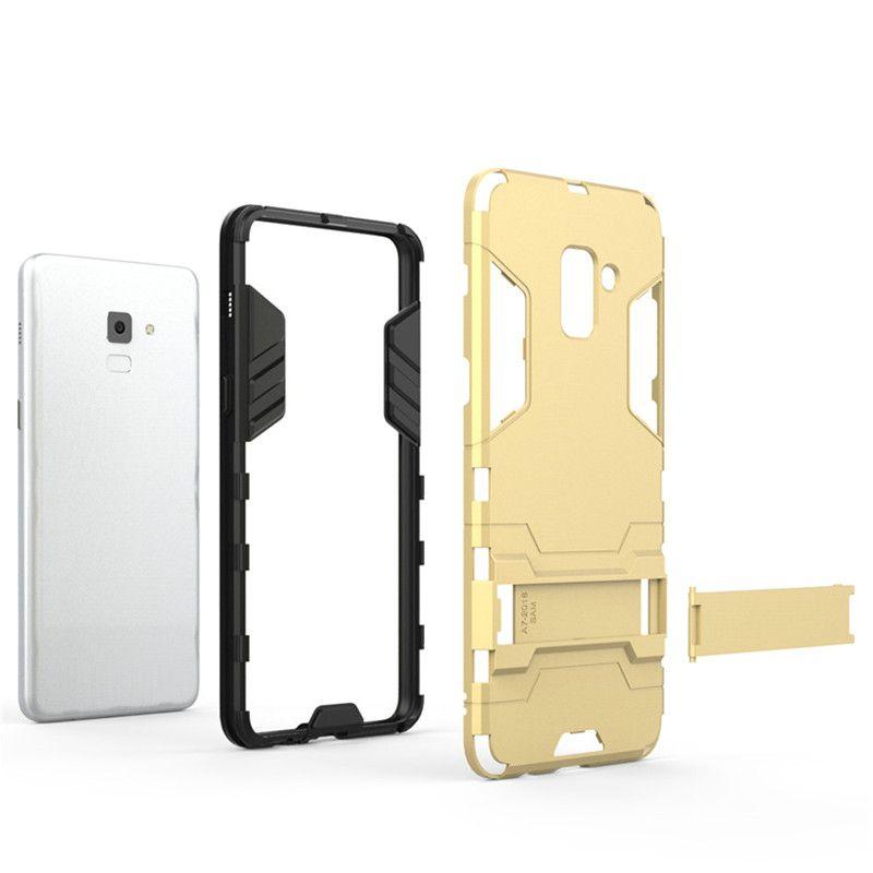 Für galaxy A8 2018 Hybrid TPU + PC Stoßfest antiklopf schutz abdeckung Iron Man Fall Für Samsung Galaxy A8 Plus 2018 Coque Fundas