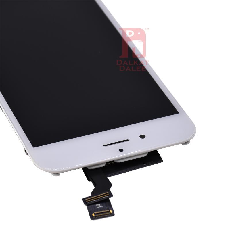 Pantalla LCD Alto brillo Pasar gafas de sol Prueba Touch Digitalizador Pantalla completa Reemplazo de montaje completo para iPhone 6 para Tianma LCD