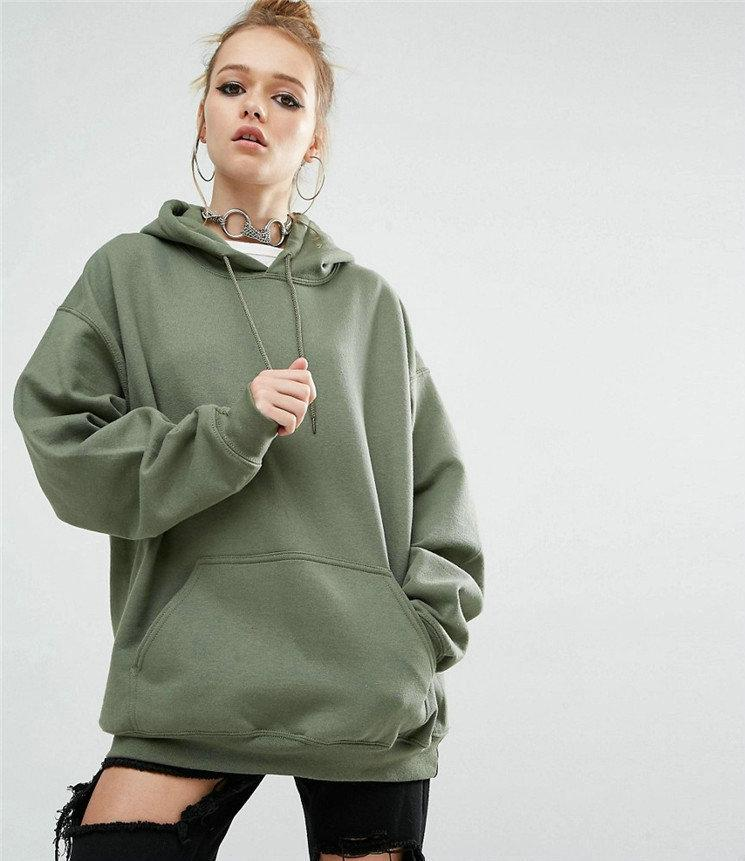 2018 Autumn Winter Hoodie Womens Sweatshirt Fashion Casual Bat ... 67cf7bcd6d23