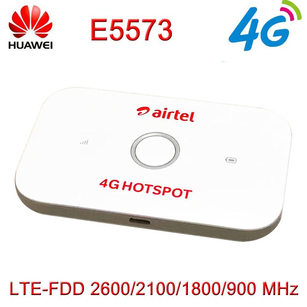 Desbloqueado Huawei E5573 E5573Cs-609 LTE FDD 150 Mbps 4G Bolso Wi-fi  Router Modem Dongle