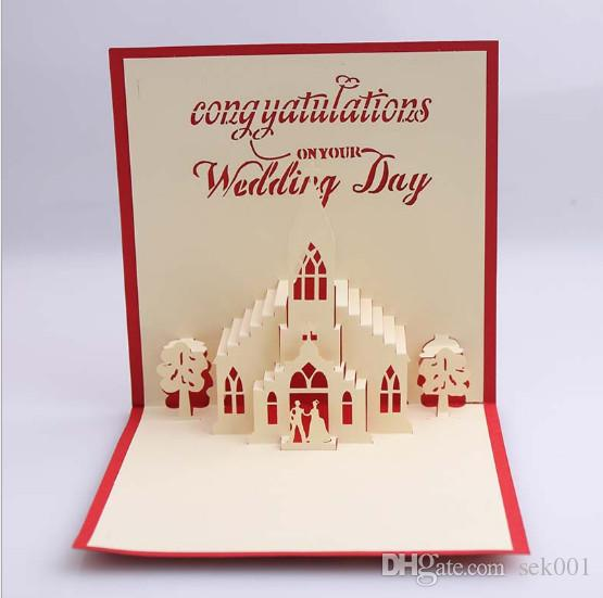 Handmade 3d pop up wedding day greeting cards for wedding handmade 3d pop up wedding day greeting cardsg m4hsunfo