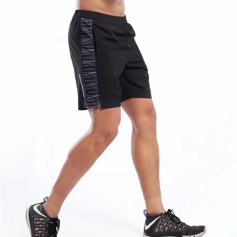 Männer Sport Laufhose Fitness Training Fußball Tennis Workout Gym Bodybuilding Atmungsaktiv Schnell Trocknend Jogging Elastische Shorts Laufshorts