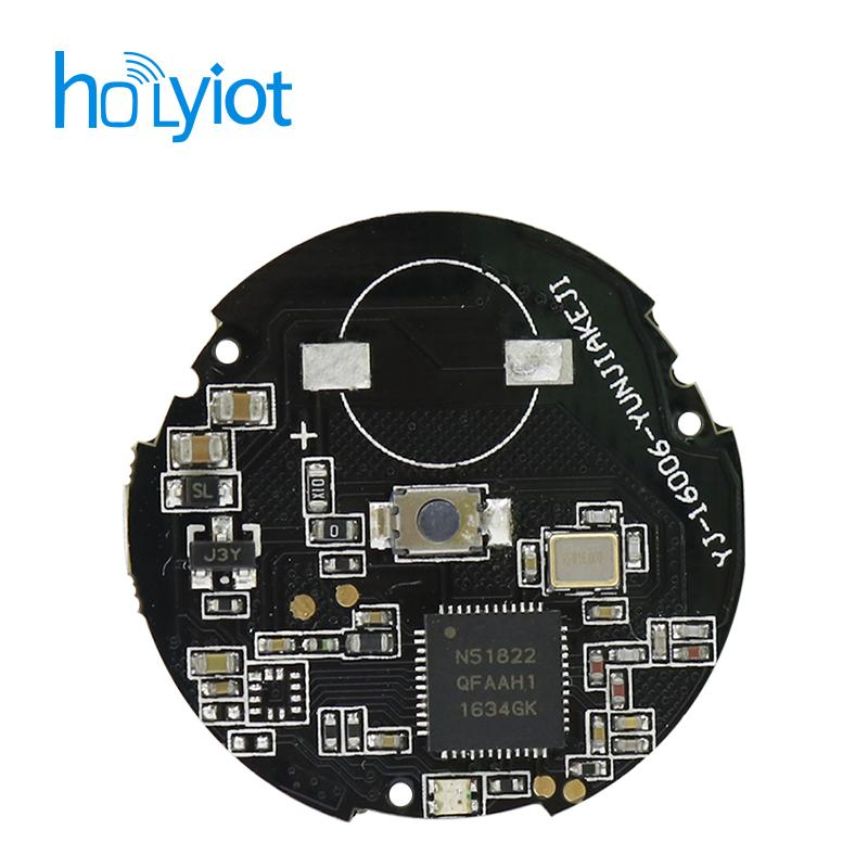 cheap price nRF51822 ibeacon nordic Bluetooth 4 0 module beacon NRF51822  QFAA, PCB antenna