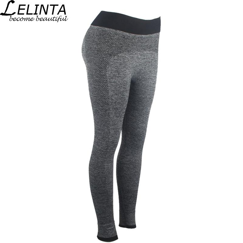 1e7eeed427 2019 LELINTA Stretched Sports Yoga Pants Gym Clothes Spandex Running ...