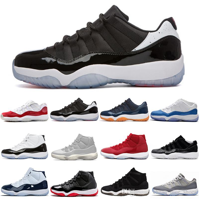 best website 0dcba b8ae1 Cheap Concords 11 High Best Size 13 Clear Shoe Box