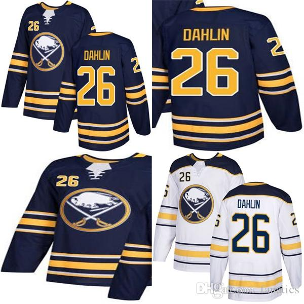 2019 Cheap 2018 New Brand Men Adult Buffalo Sabres  26 Rasmus Dahlin Draft  First Round Pick Home Away White Navy Blue Stitched Hockey Jerseys From  Fanatics a36deaa97