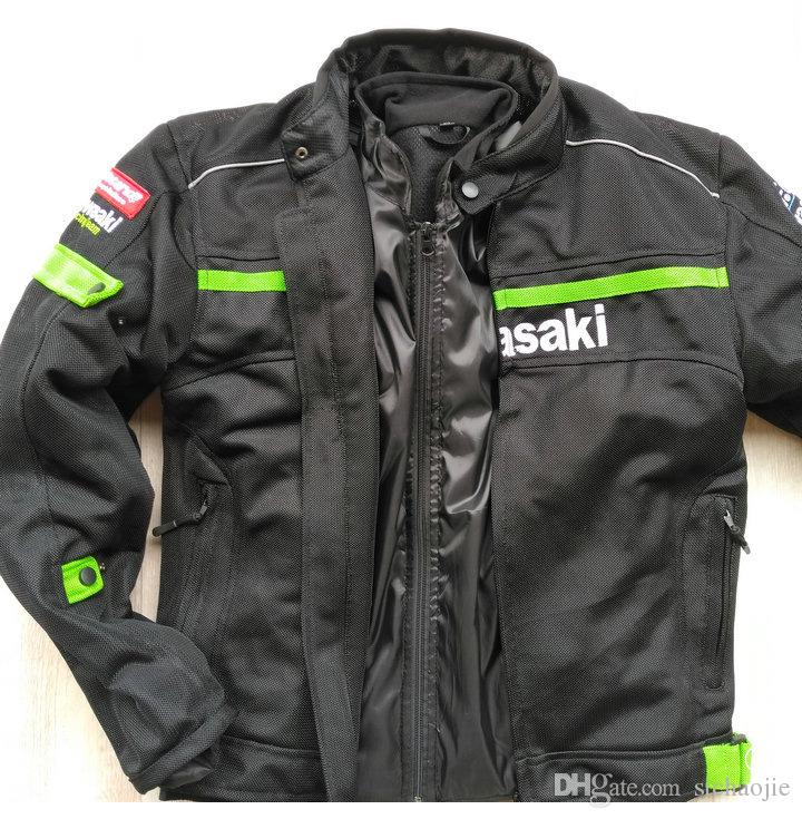 New summer men's breathable motorcycle off-road jackets knight jackets racing jackets Racing Wear windproof have protection