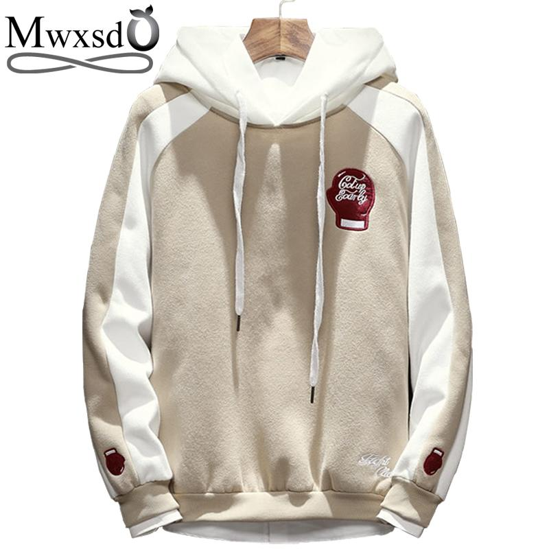Mwxsd Men Hoodies Japan Style Spring Sweatshirts Men S Cotton Collage  Student Streetwear Hoodies Asian M 5XL UK 2019 From Jingju e680bcacc
