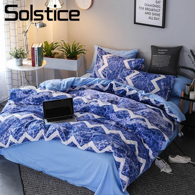 Solstice Home Textile Stripe Blue Ocean Waves Kid Teenage Boy ... d7a0c036cf