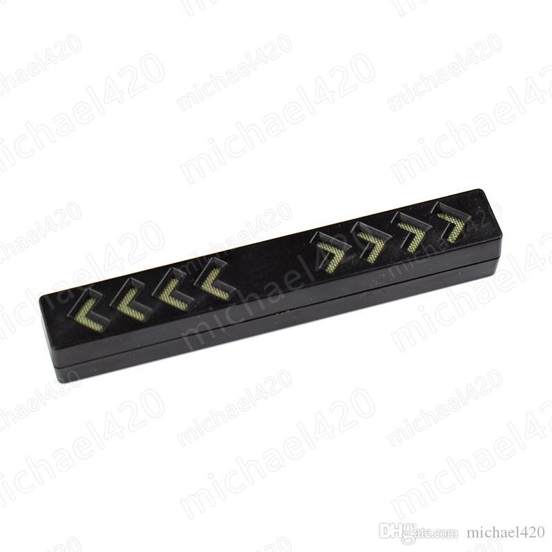 Cheap Price Cigar humidor Long Slim Good Quality Tobacco Humidifier Black Plastic Cigar case Humidifier Cigar Accessories