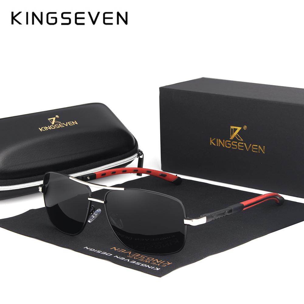 9243c5f618b KINGSEVEN 2018 Brand Men Aluminum Sunglasses HD Polarized UV400 Mirror Male  Sun Glasses Women For Men Oculos De Sol N724 John Lennon Sunglasses Wiley X  ...