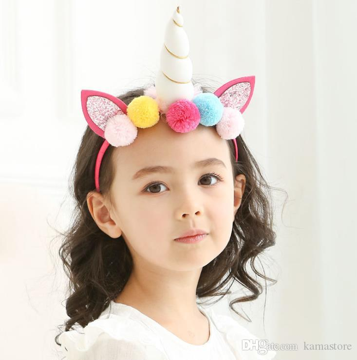 Baby Unicorn Headband Hair Clip Unicorn Horn Halloween Unicorn Birthday  Newborn Photo Props Girl Birthday Outfit Baby Girl Hair Accessories Flower  Girl Hair ... 434a03b4078