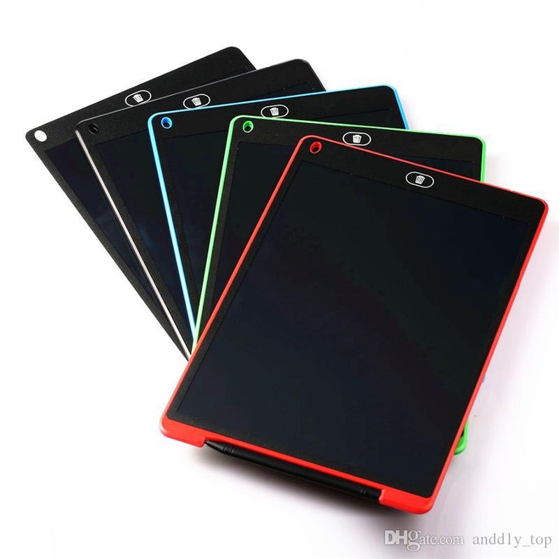 8.5 인치 LCD 쓰기 태블릿 그리기 업그레이드 된 펜 어린이 종이를 메모장 정제 메모에 대한 보드 칠판 필기 패드 선물