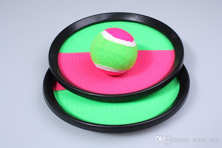 Ball Toys Sticky Target Racket Indoor and Outdoor Fun Sports Parent-Child Interactive Throw and Catch Novelty Items