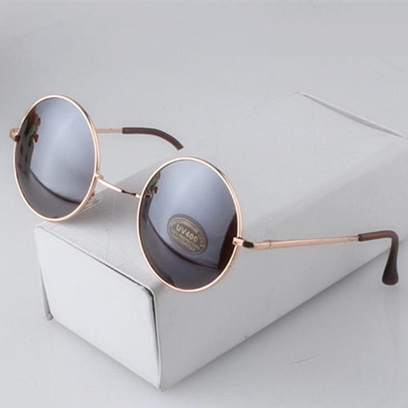 7135262fae Fashion Round Sunglasses Men Women Vintage Circle Male Female Gold Sun  Glasses For Women Men Brand Designer Mirror Goggles Cat Eye Sunglasses Round  ...