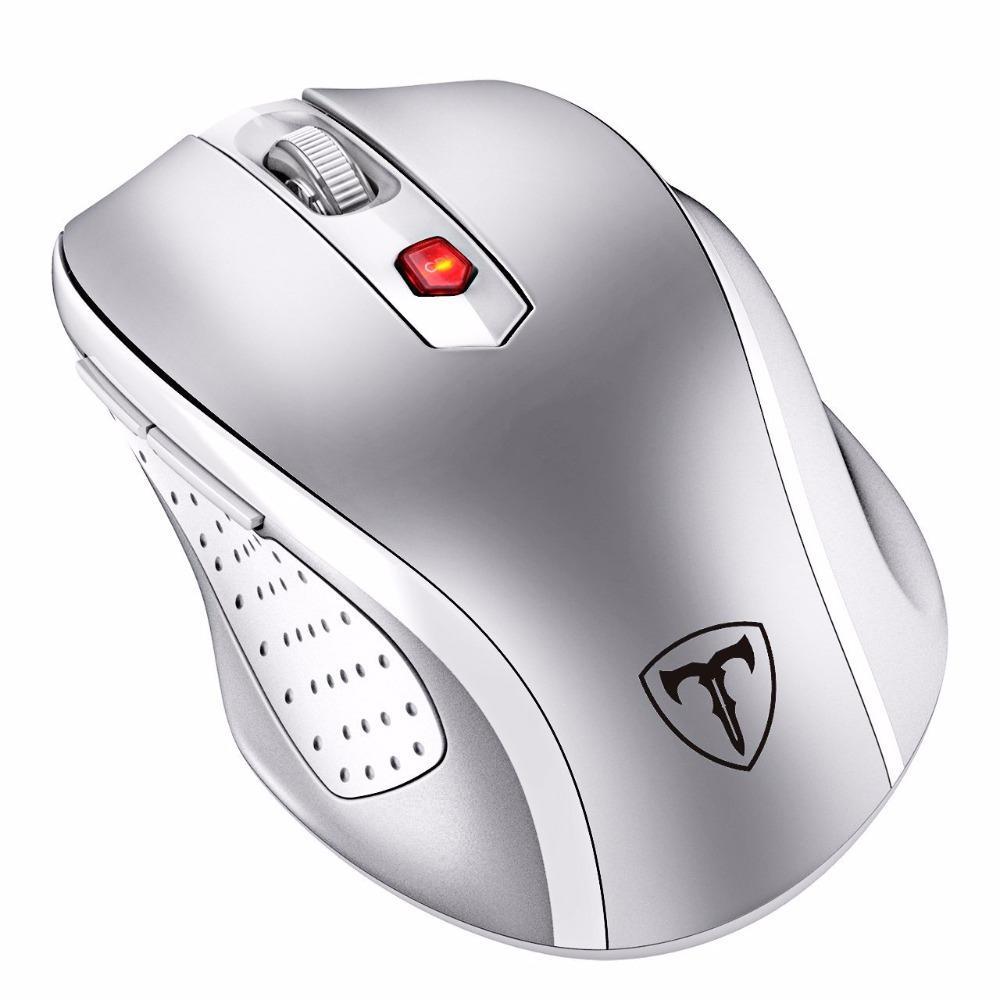 ad51b32588c845 Acquista VicTsing Mouse Wireless Mouse Ottico Mobile Portatile 2.4G Con  Ricevitore USB 5 Pulsanti Livello 6 Regolabili PC Portatile Nuovo A $33.67  Dal ...