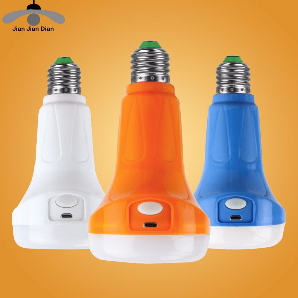 220v L'ampoule E27 A Mené Rechargeable Légère La D'urgence Bombillas D'éclairage 9w Led Lampe De Jjd Base QxeWrdBCo