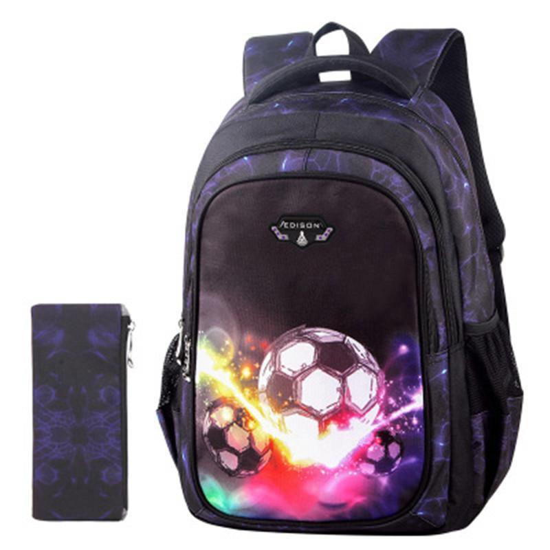 Printing Backpacks Little Boys Soccers School Bags For Kids Cool  Lightweight BackPack For Children Traveling Bookbags Laptop Bags For Women  Shoulder Bags ... 2719fe19d8
