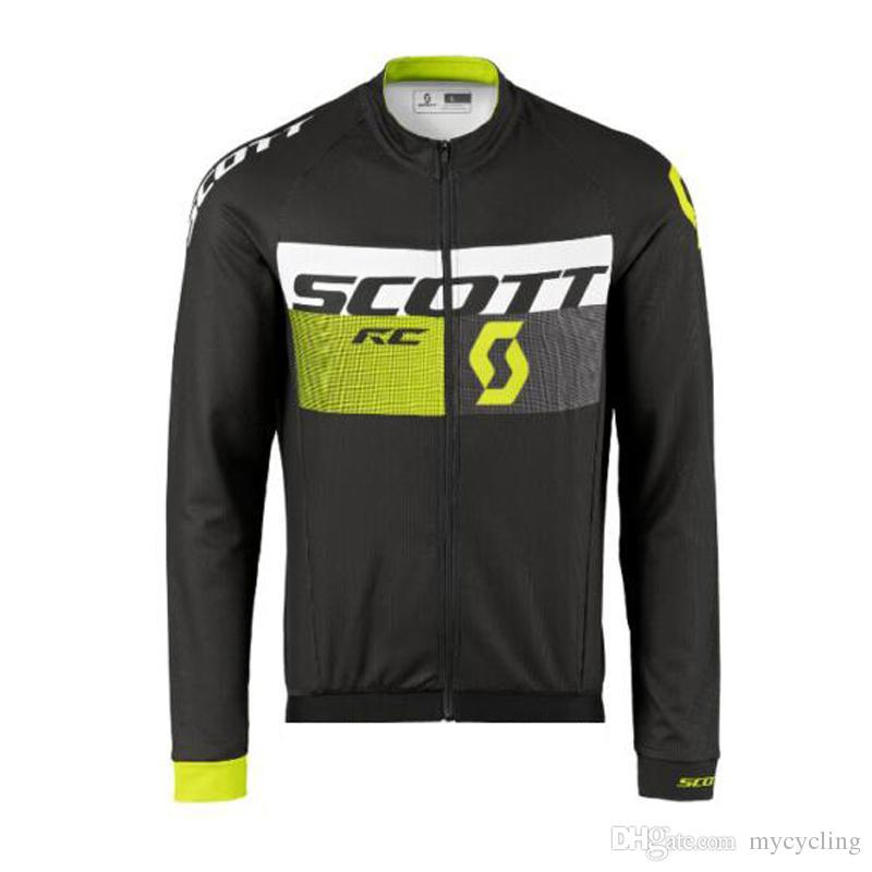 Maglia da ciclismo SCOTT da uomo MTB Bike Shirt Abbigliamento da bicicletta ropa ciclismo hombre traspirante quick dry manica lunga racing top F0902