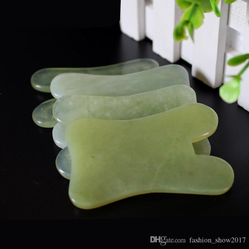 Strumento moderno di bellezza di Jade Stone Guasha Gua Sha naturale del bordo di forma quadrata di massaggio del massaggiatore di mano di assistenza sanitaria di rilassamento