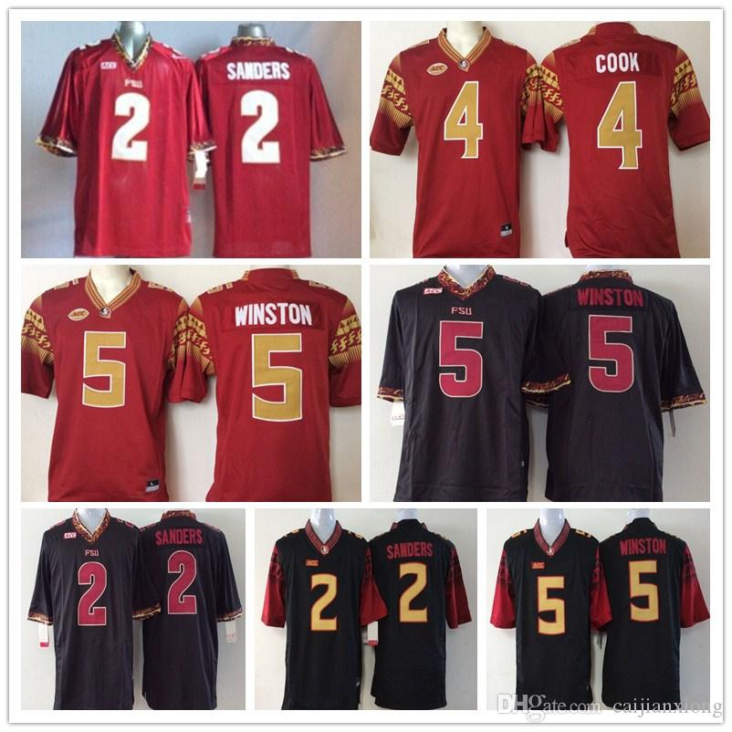 758a20ee ... 50% off 2 deion sanders dalvin cook 5 jameis winston mens college florida  state seminoles