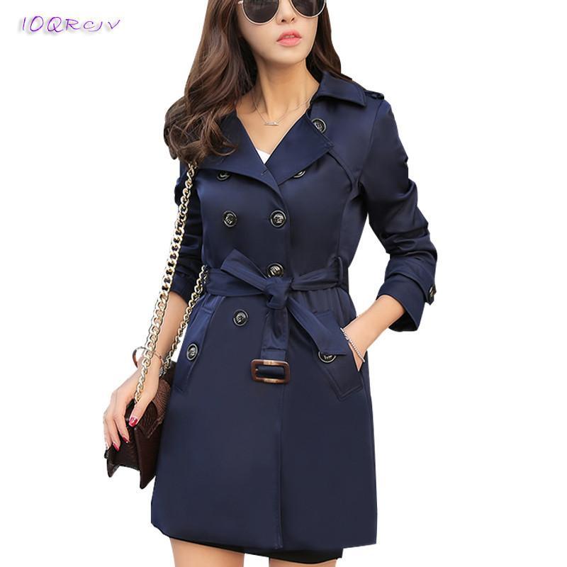 d5639d004f313 2019 Plus Size 6XL Fashion Spring Women Windbreaker Large Size Loose Trench  Coat Women Elegant Slim Autumn Female Tops IOQRCJV T153 Y18110804 From ...