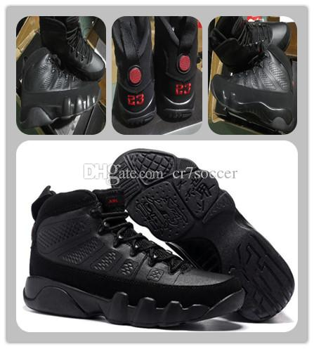 official photos c8da1 ab095 9 Bred Black University Red 9s Space Jam LA Oreo Anthracite Basketball  Shoes 9 Sports Shoes Athletics Sneakers Trainers With Box Free Ship  Basketball Shoe ...