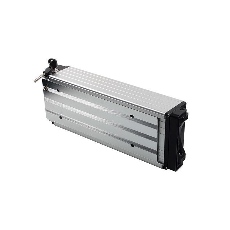 A123 LiFePO4 battery pack 13S4P Electric bike battery with rear rack lithium ion battery 36V 10Ah 1500W motor