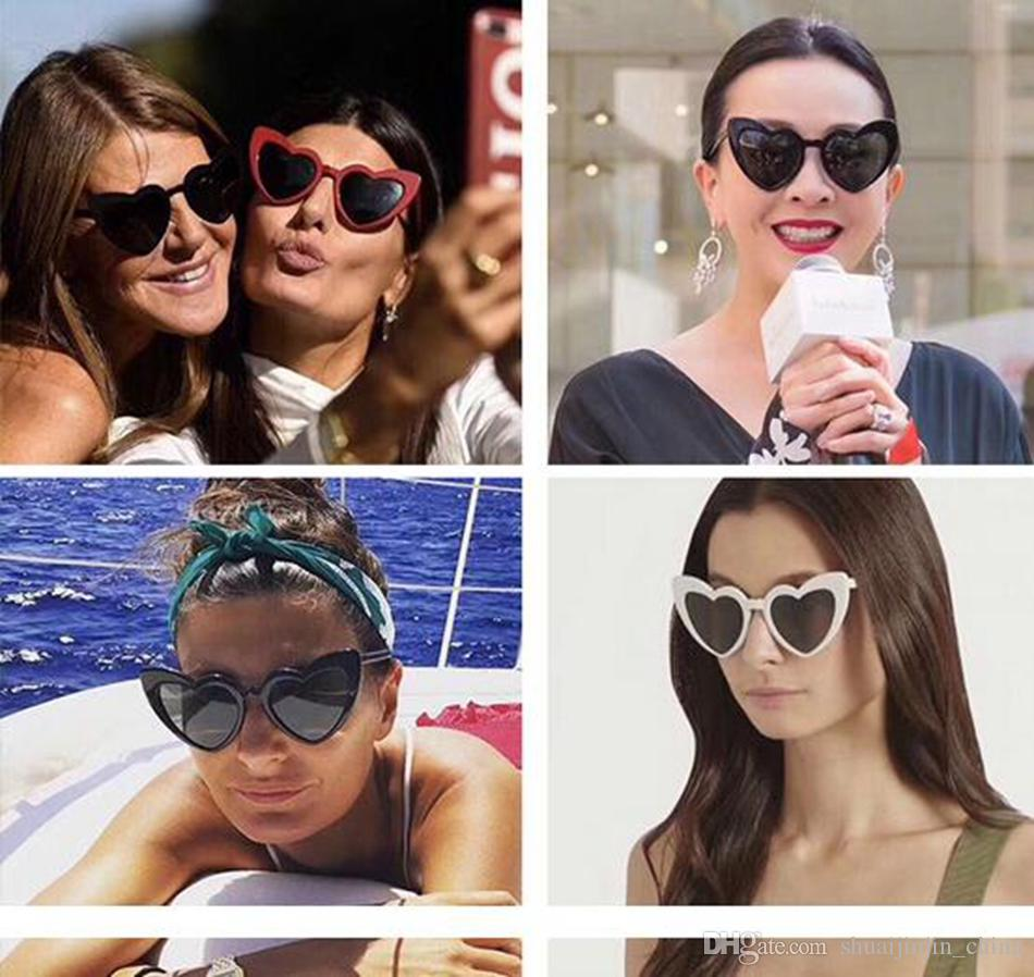 Western Style Unbound Sunglasses Polarized Heart Shaped Plastic ...