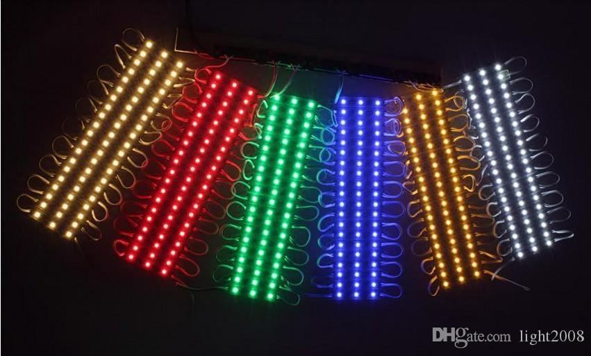 الصمام الخفيفة وحدة للماء Superbright SMD5630 LED وحدات الضوء ، بارد أبيض / دافئ أبيض / أحمر / أصفر / أزرق / أخضر ، DC12V ، جودة عالية