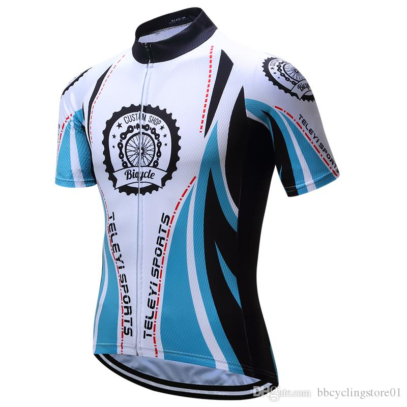 2018 Team Cycling Shirts Short Sleeve Summer For Men   Women Cycling  Downhill Jersey Accept Customized Service Bike Jersey Clothing Bicycle  Jerseys Cycling ... 4cdc295a8