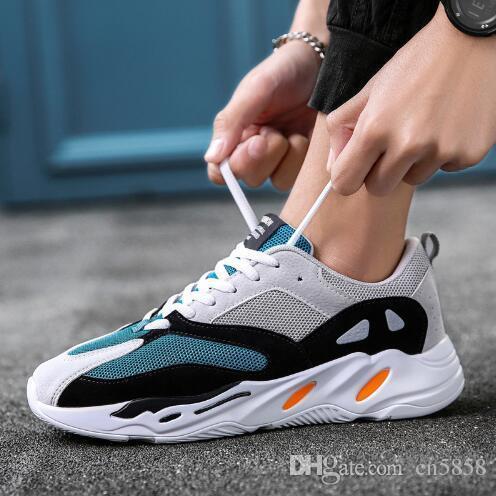 Compre Vintage Papá Hombres Zapatos 2018 Kanye West Moda Luz Malla  Transpirable Hombres Casuales Zapatos Hombres Zapatillas De Deporte A   20.31 Del Cn5858 ... 7f12a9a3d03