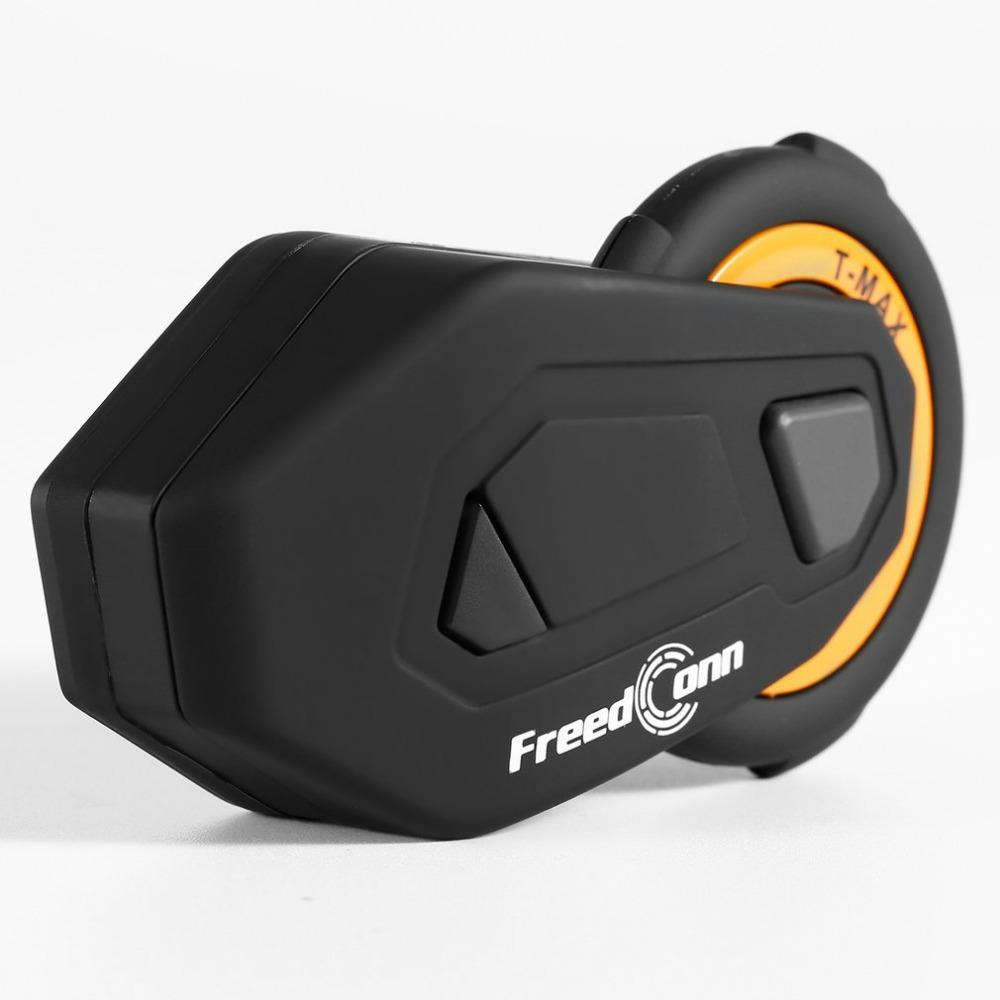 T-MAX Motorcycle Headset 6 Riders Communication 1200m Motorbike Helmet  Group Intercom FM Radio Bluetooth 4 1 Intercom Headset