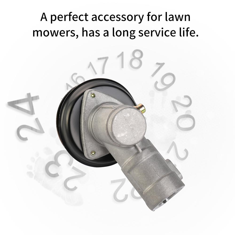 Garden Lawn Mower Accessories Steel Material Gear Box Cutter Parts Easy Installation Garden Tool Parts