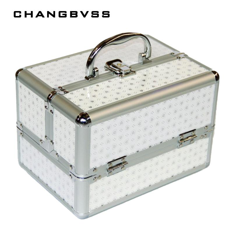 2018 New Arrivel Portable Jewelry Box Make Up Organizer,Travel Makeup Storage  Box,Cosmetic Organizer Container Suitcase Cosmetic Case From Stunning88, ...