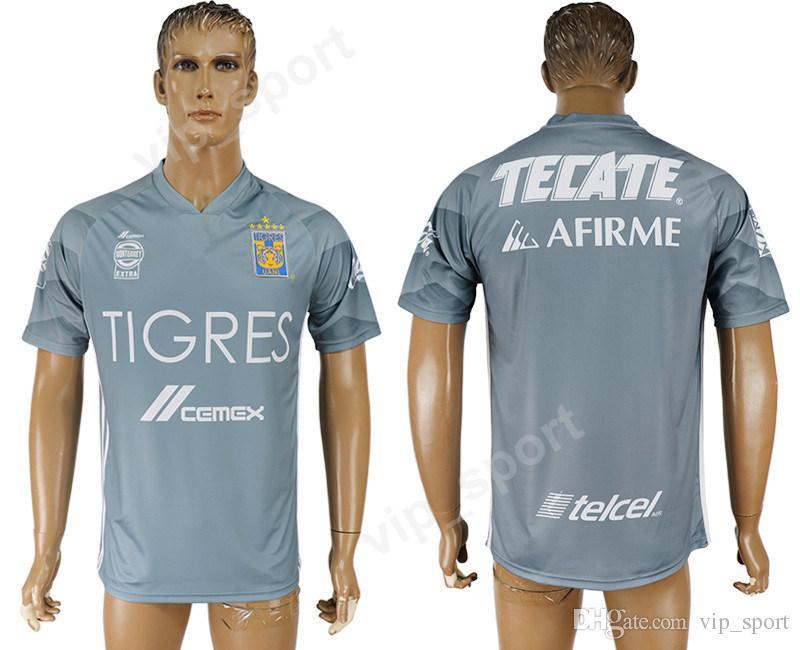 2019 Mexico Nuevo Leon Tigres UANL Jersey 2018 2019 Soccer Men 11 DAMIAN 10  GIGNAC 18 SOSA 1 GUZMAN Football Shirt Uniform Kits 8 ZELARAYAN 4 AYA From  ... ebe423bcb