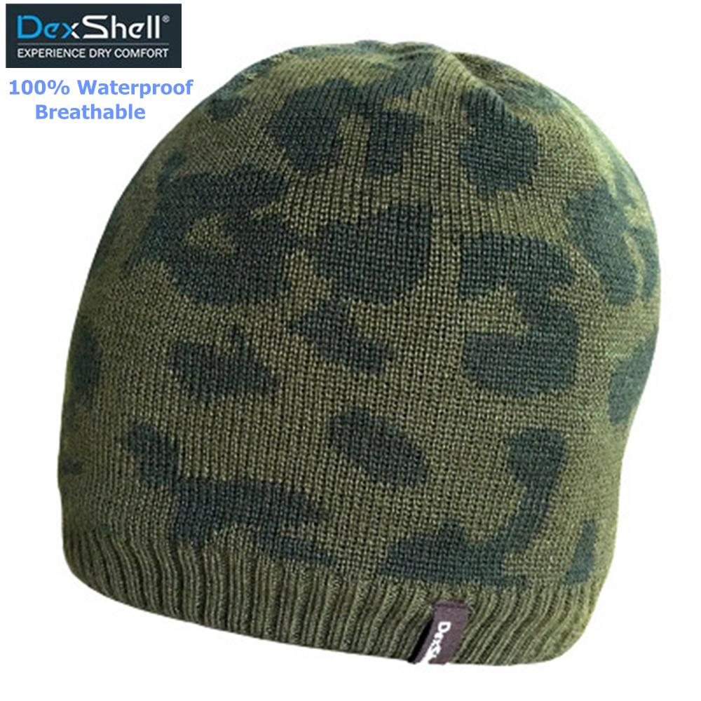 f22ef1ea66665 2019 Men Winter Snow Camouflage Hats Waterproof Breathable Thermal Hiking Hats  Male Outdoor Sports Knitted Polar Fleece Skiing Caps From Youtuo